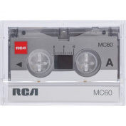 RCA RCTMC603 Micro Cassette Tapes, Polybagged