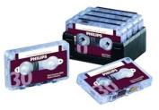 Philips 30-Minute Mini Cassette Tape - 10 Pack