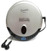 Supersonic SC251 Portable Slim CD Player