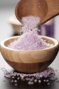 Sleep Well Lavender Mediterranean Sea Bath Salt Soak - 9.1kg (Bulk) - Coarse Grain