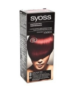 Syoss Hair Permanent Coloration No. 5-89 Dark Ruby Red