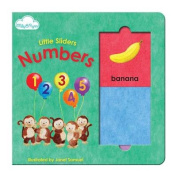 Numbers (Little Sliders Sliding Panel Board Book) [Board book]
