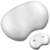 nGenius Foam Bath Pillow, White