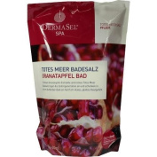 DermaSel Spa Dead Sea Bath Salt Pomegranate 400g