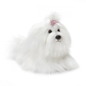 Nat and Jules Plush Toy, Maltese, Small