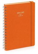 Nava 2015 Diary Weekly Small Orange
