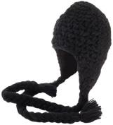 Nirvanna Designs CH306 Long Tassel Earflap Hat with Fleece