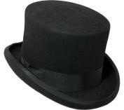 Scala Classico Men's Wool Felt English Topper Hat
