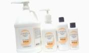 Ginesis Bio Face and Body Scrub, Sulphate Free Forumula-Natural Walnut Powder Exfoliant