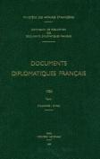 Documents Diplomatiques Francais [FRE]