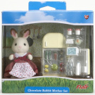 Chocolate Rabbit Mother Set