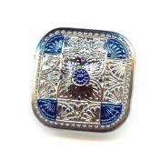 Nirvana Beads Czech Glass Buttons