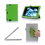 ProCase New Kindle Fire HDX 8.9 Tablet Case with bonus stylus pen - Tri-Fold Leather Stand Folio Cover for Kindle Fire HDX 23cm Tablet (will only fit New Kindle Fire HDX 8.9 2013 released)