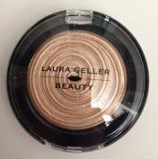 Laura Geller Baked Gelato Vivid Swirl Eyeshadow in Caramel - Unboxed