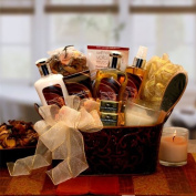 Caramel & Crème Bliss Spa Gift Basket - Perfect Gift for Mothers Day