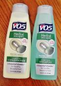 Alberto Vo5 Herbal Escapes Kiwi Lime, Set of Shampoo & Conditioner