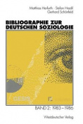Bibliographie Zur Deutschen Soziologie