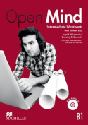 Open Mind British Edition Intermediate Level Workbook with Key & CD Pack