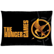 The Hunger Games Pillowcase Standard Size 20x30 One Side Pillow Case PLS434
