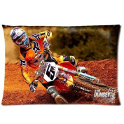 Ryan Dungey Motocross FreeStyle Custom Pillowcase Cover Two Side Picture Size 41cm x 60cm