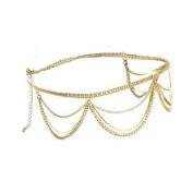 GURAIO Embedded Zircon Luxury Design Heart Sweater Chain Silver/Gold