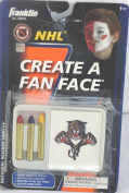 Florida Panthers NHL Hockey Create a Fan Face Tattoos and Face Crayons