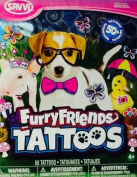 Temporary Tattoos ~ Furry Friends ~ Savvi ~ 50+ ~ Delightful Domestic Animals