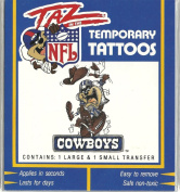 Taz in the NFL Dallas Cowboys Temporary Tattoos