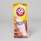 Arm & Hammer Classic Disposable Latex Gloves 10/Pkg-White