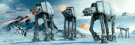 Star Wars: Episode V - The Empire Strikes Back - Door Movie Poster (The Battle Of Hoth - At-At Attack) (Size