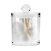 Danielle Acrylic Cotton Ball and Cotton Swabs Holder