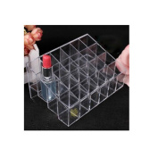 Ushoppingcart Clear Transparant arylic Trapezoid Lipstick Holder Cosmetic Organiser/display/holderOrganizer Stand