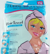 The Original Turbie Twist Super Absorbent Hair Towel - Mint Green