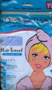 The Original Turbie Twist Super Absorbent Hair Towel - Light Blue