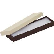 82A Black Pinstripe Cotton Filled Boxes