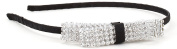 Great Gatsby / Flapper Inspired Handmade Rhinestone Bow Fashion Headband / Hairband