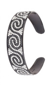 Great Gatsby Flapper Inspired Handmade Fashion Headband / Hairband with a Rhinestone Twist Design