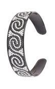 Great Gatsby Flapper Inspired Handmade Fashion Headband / Hairband with a Rhinestone Twist Design