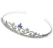 Elegance Collection - Coloured Crystal Wedding Headband Bridal Tiara