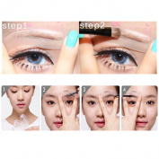 4pcs/Bag Eyebrow Grooming Stencil Card Kit Template Make Up Line Shaping Tools AOSTEK