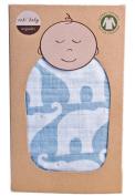 Zebi Organic Muslin Swaddle Blanket