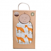 Zebi Baby Swaddle Blanket - Orange Fox