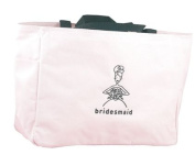 Hortense B. Hewitt Wedding Accessories Pink Bridal Party Tote Bag, Maid of Honour, 30cm by 36cm