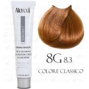 Aloxxi Chroma Permanent Creme Colour 60ml 8G Light Golden Blonde
