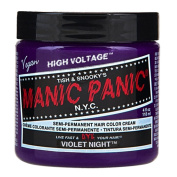 Hair Dye Manic Panic Classic Cream Violet Night Purple Free Gloves