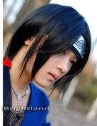 Flyingdragon Itachi Uchiha Itachi Long Straight Black Cosplay Wig