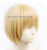 Flyingdragon Attack On Titan Armin Arlart Short Blond Cosplay Wig
