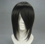 Flyingdragon Ash-Sebastian Michaelis Black Cosplay Japanese Short Wig