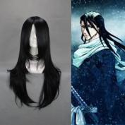 Flyingdragon Byakuya Kuchiki Black Cosplay Japanese Long Wig