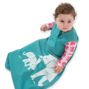 Wee Urban Cosy Basics Aqua Elephant Sleep Bags